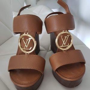 Louis Vuitton wedge